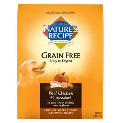 Nature's Recipe Grain Free Dog Food Chicken