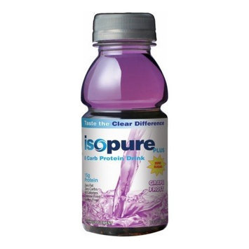 NATURE'S BEST/THE ISOPURE CO. ISOPURE PLUS,O CARB,GRAPE
