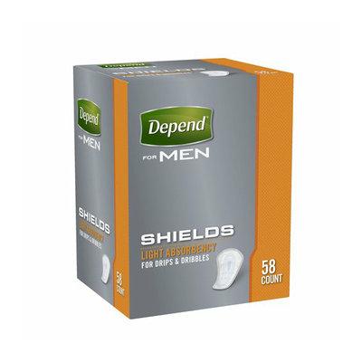 Depend for Men Light Absorbency Shields