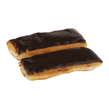 Palermo Bakery French Cream Filled Choco. Iced Long Johns - 2 CT