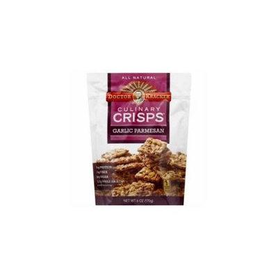 Kehe Distributors Doctor Kracker Culinary Crisps Garlic Parmesan 6 oz