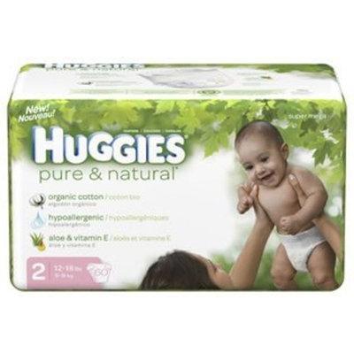 Huggies Pure & Natural Diapers SZ2 60ct