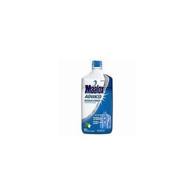 Maalox Advanced Regular Strength Antacid and Antigas Liquid Relives Heartburn - 5 Oz