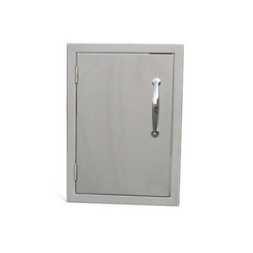 Sunstone B-DV1521 15 in. x 21 in. Raised Doors for Stone Island With shelf