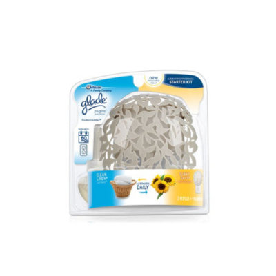 Glade Plug Ins Lasting Impressions Scented Oil Warmer - Clean Linen and Sunny Days