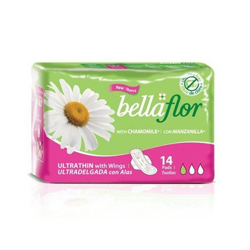 Bella Flor Ultrathin Pads with Wings
