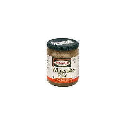 Manischewitz Whitefish and Pike in Liquid Broth 14.5 oz. (Pack of 6)