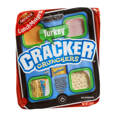 Armour Lunch Makers Cracker Crunchers With Crunch Ham
