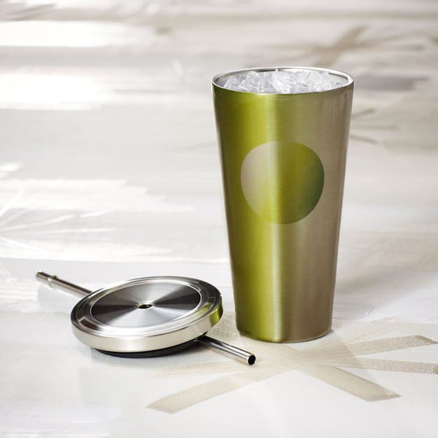 Cold Cup Tumbler - Gradient Green, 16 fl oz Starbucks