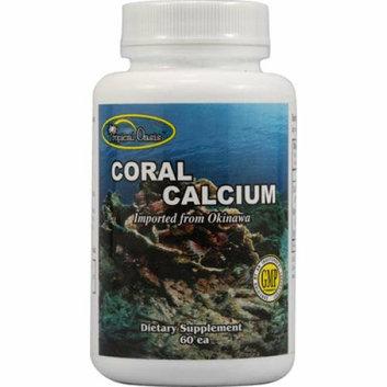 Tropical Oasis Coral Calcium 60 Capsules
