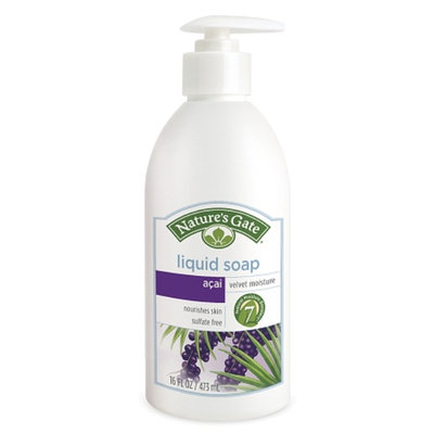 Nature's Gate Liquid Soap Acai Velvet Moisture