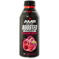 AMP Energy Boosted Wild Berry Cherry