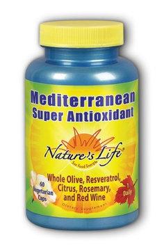 Mediterranean Antioxidant Nature's Life 60 VCaps
