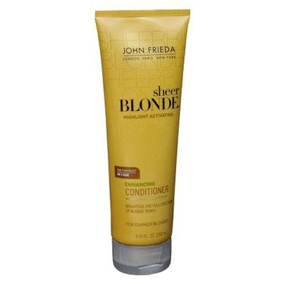 John Frieda Sheer Blonde Highlight Activating Enhancing Conditioner For Darker Shades