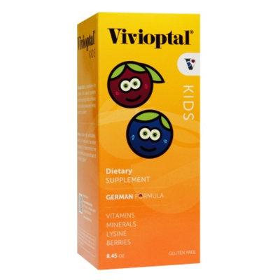Vivioptal Kids Liquid Multivitamin & Multiminerals Supplement, Berries, 8.45 fl oz
