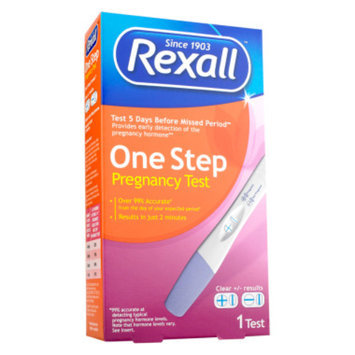 Rexall One Step Pregnancy Test