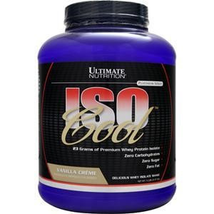 Ultimate Nutrition - Iso Cool Vanilla Creme - 5 lbs.