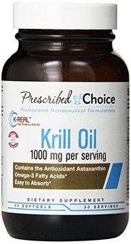 Prescribed Choice - Krill Oil 1000 mg. - 60 Softgels