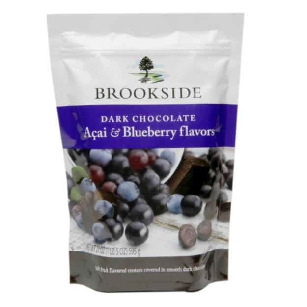 Hershey's  Brookside Dark Chocolate Acai And Blueberry Flavors