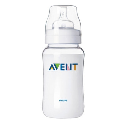 Avent Classic Feeding Bottle with Variable Flow Nipple
