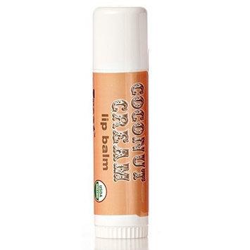 Treat JUMBO Organic Lip Balm, Coconut Cream, Cruelty Free .50 Ounces