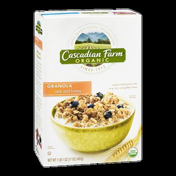 Cascadian Farm Organic Oats & Honey Granola
