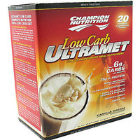 Champion Nutrition Low-Carb Ultramet Vanilla Cream Drink Mix Powder