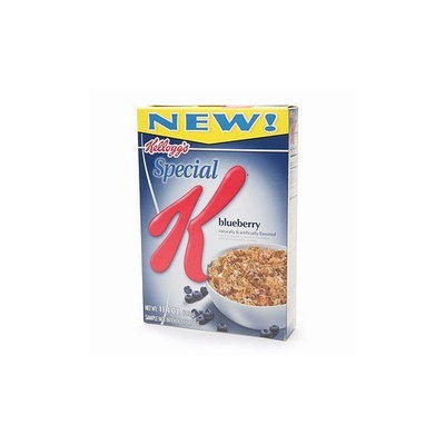 Kellogg's Special K Blueberry Cereal, 15.5-Ounce Packages (Pack of 4)