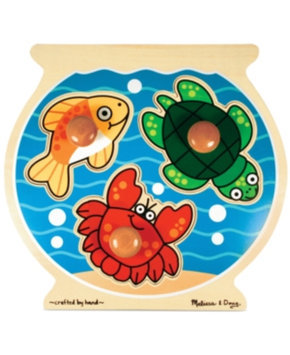 Melissa and Doug Fish Bowl Jumbo Knob 2+