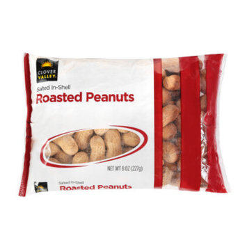 Clover Valley In-Shell Roasted Peanuts, 8 oz