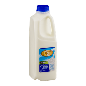 PET Reduced Fat 2% Milk