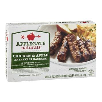 Applegate Naturals Breakfast Sausage Chicken & Apple - 10 CT