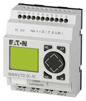 Eaton Moeller EASY512-DC-RC Control Relay, 24Vdc
