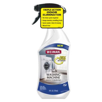 Weiman Washing Machine Cleaner & Deodorizer, 24 fl oz