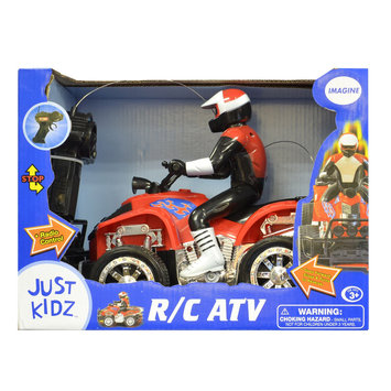 Just Kidz RC ATV Red - TOY CENTURY INDUSTRIAL CO LTD