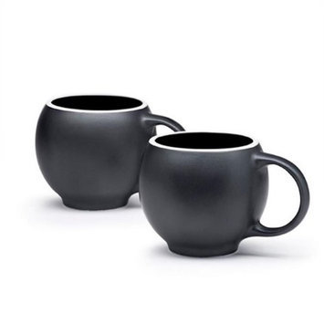 Maia Ming Designs Eva Teacups Black Matte - Set of 2