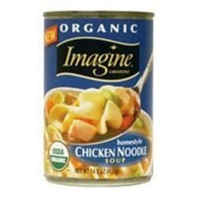 Imagine Foods Imagine Organic Homestyle Chicken Noodle Soup, 14.5 Ounce Can (Pack of 12) ( Value Bulk Multi-pack)