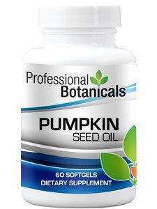 Professional Botanicals Pumpkin Seed Oil 60 gels