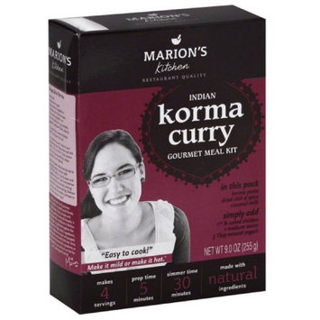 Marions Kitchen Indian Korma Curry Gourmet Meal Kit, 9 oz, (Pack of 5)