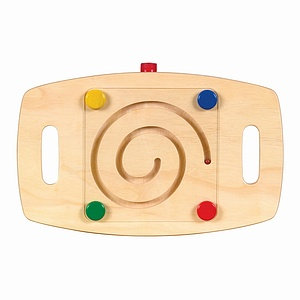 Guidecraft Marble Maze Balance Bases Set of 3 Ages 3+