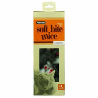 Petmate Softbite Cat Toy, 24-Pack, Fur Mice