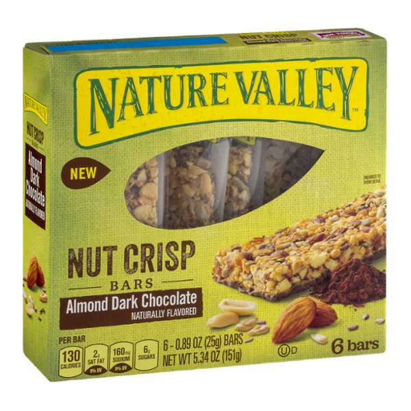Nature Valley™ Almond Dark Chocolate Crisp Nut Bars
