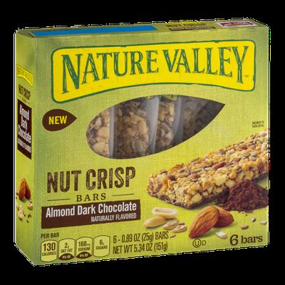 Nature Valley™ Almond Dark Chocolate Crisp Nut Bars