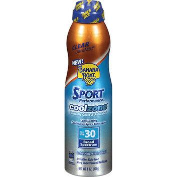 Banana Boat Sport Performance CoolZone Sunscreen Spray SPF 30