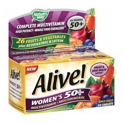 Placeholder Alive! Once Daily Women's 50+ Multivitamin/Multimineral