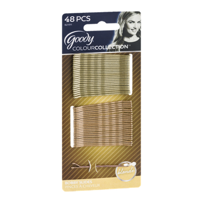 Goody ColourCollection Bobby Slides Blonde - 48 CT