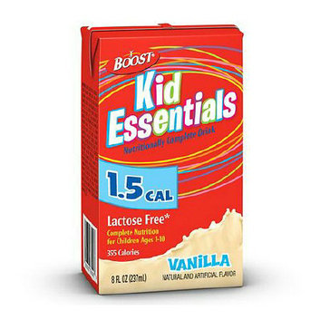 Boost Kid Essentials 1.5 Cal Medical Nutritional Drink Vanilla