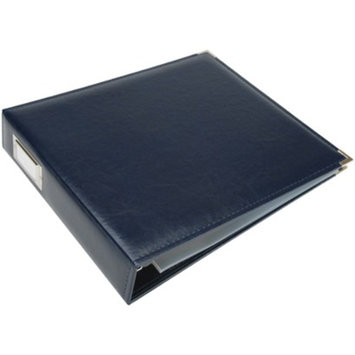 We R Memory Keepers Faux Leather 3-Ring Binder - Navy (12x12