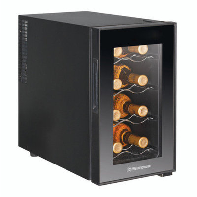 Westinghouse 8 Bottle Single Zone Thermoelectric Wine Refrigerator