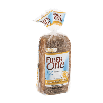 Fiber One Bread Honey Whole Wheat